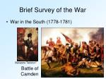 brief survey of the war5
