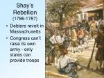 shay s rebellion 1786 1787