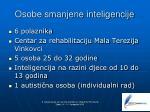 osobe smanjene inteligencije
