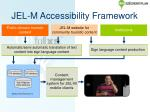 jel m accessibility framework