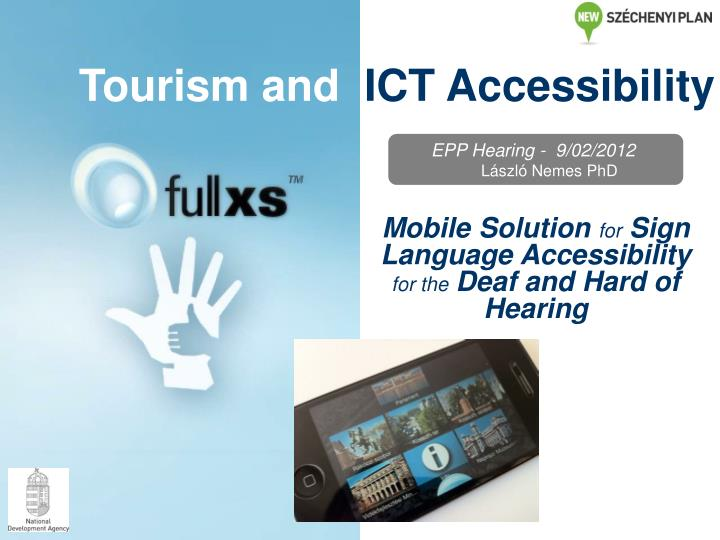 tourism and ict accessibility n.