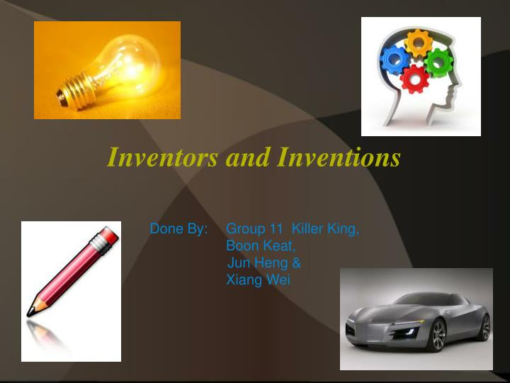 inventors and inventions n.