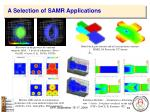 a selection of samr applications