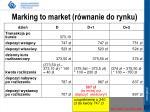 marking to market r wnanie do rynku