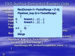 iso surface extraction example code
