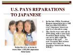 u s pays reparations to japanese