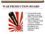 war production board
