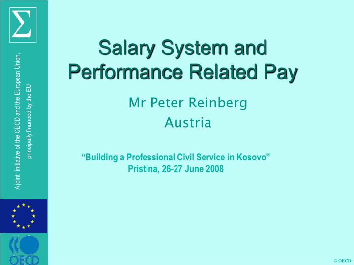 salary system and performance related pay n.