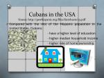 cubans in the usa source http pewhispanic org files factsheets 23 pdf