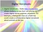 digital storybooks