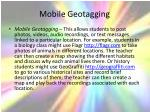 mobile geotagging