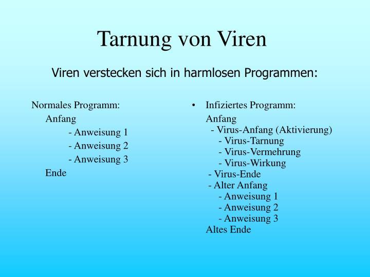 Normales Programm: