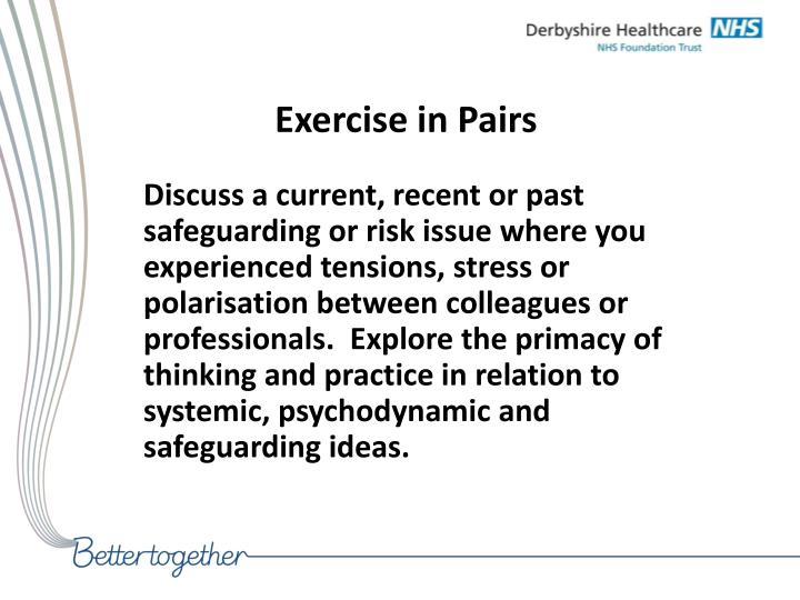 Exercise in Pairs