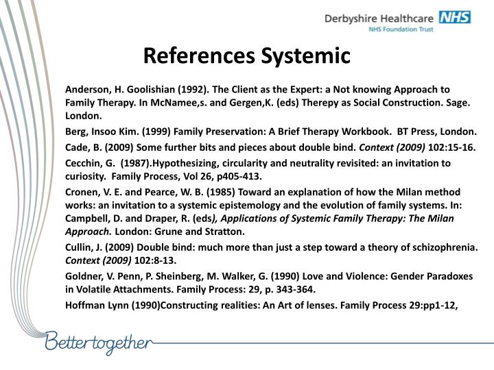 References Systemic