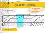 dyni leag operation