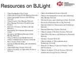 resources on bjlight