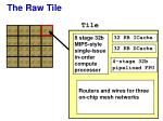 the raw tile