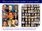 who is the global leader in your mind