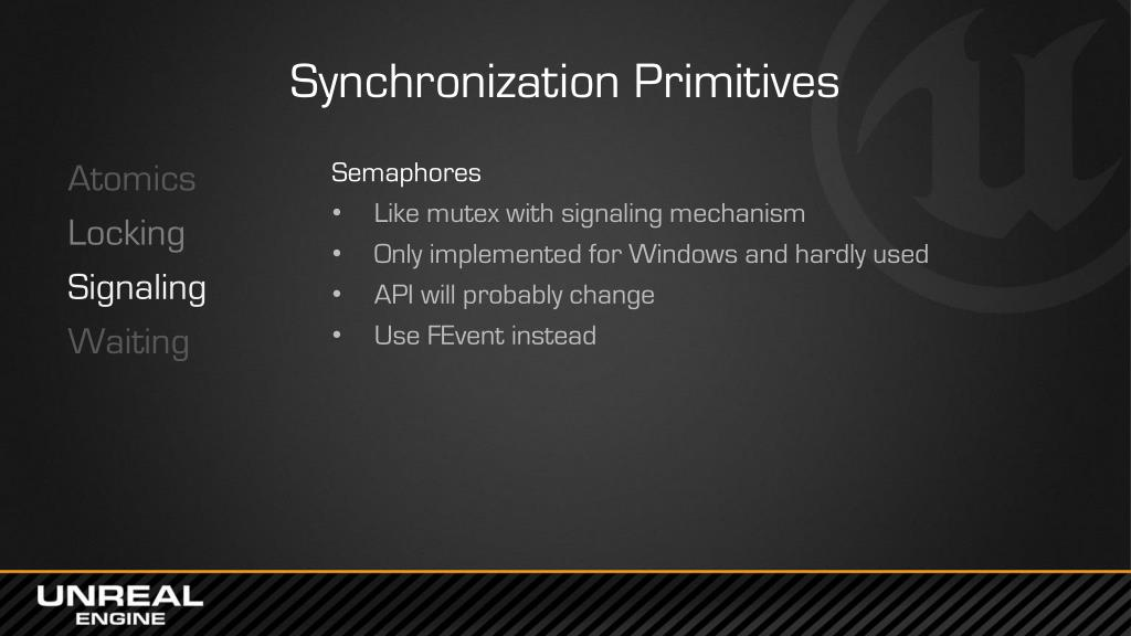 PPT - Concurrency & Parallelism in UE4 PowerPoint