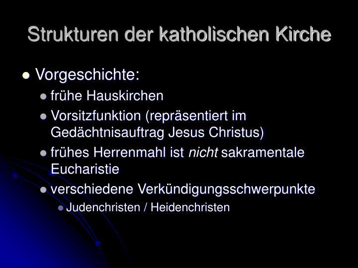 Strukturen der katholischen kirche1