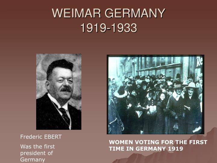 weimar germany 1919 1933 n.