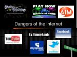 dangers of the internet