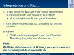interpretation und fazit1