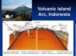 volcanic island arc indonesia