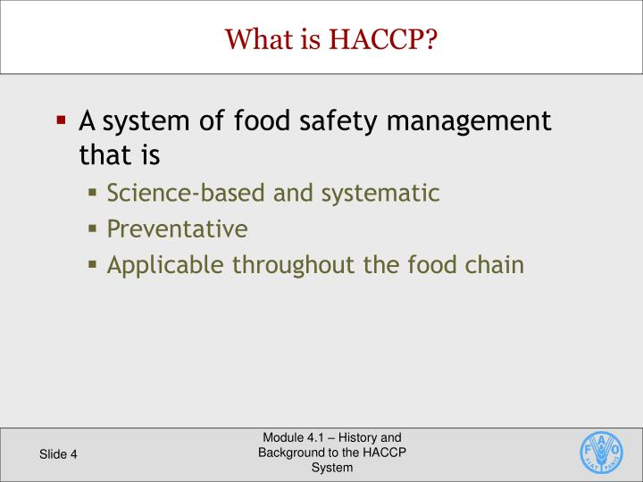 food safety management report The risk management solutions test report implement and maintain procedures to manage potential emergency situations and accidents that can impact food safety and.