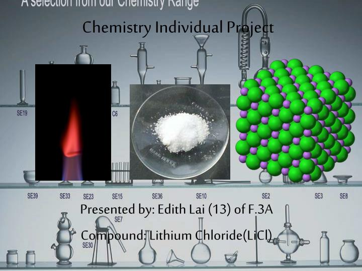 chemistry individual project n.