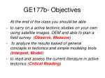 ge177b objectives1