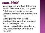 praise pray4
