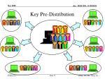 key pre distribution1