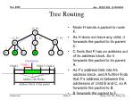 tree routing