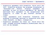 legal matters agreements3