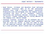 legal matters agreements5