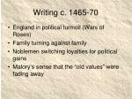 writing c 1465 70