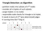 triangle detection an algorithm1