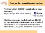 your perfect advertisement partner2