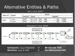 alternative entities paths