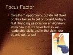 focus factor1