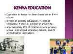 kenya education