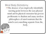 mind body dichotomy5
