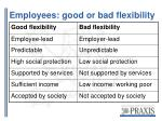 employees good or bad flexibility