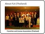 about fla thailand