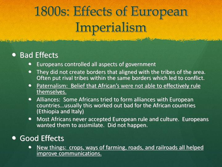the europeans acceptance of imperialism essay Colonialism and imperialism europeans continuously which as a historical concept for determining colonial practices had gained acceptance 15 in this.