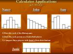 calculator applications pg 17 18 booklet