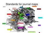 standards for journal maps
