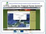 ctfs center for tropical forest science