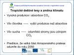 tropick de tn lesy a zm na klimatu